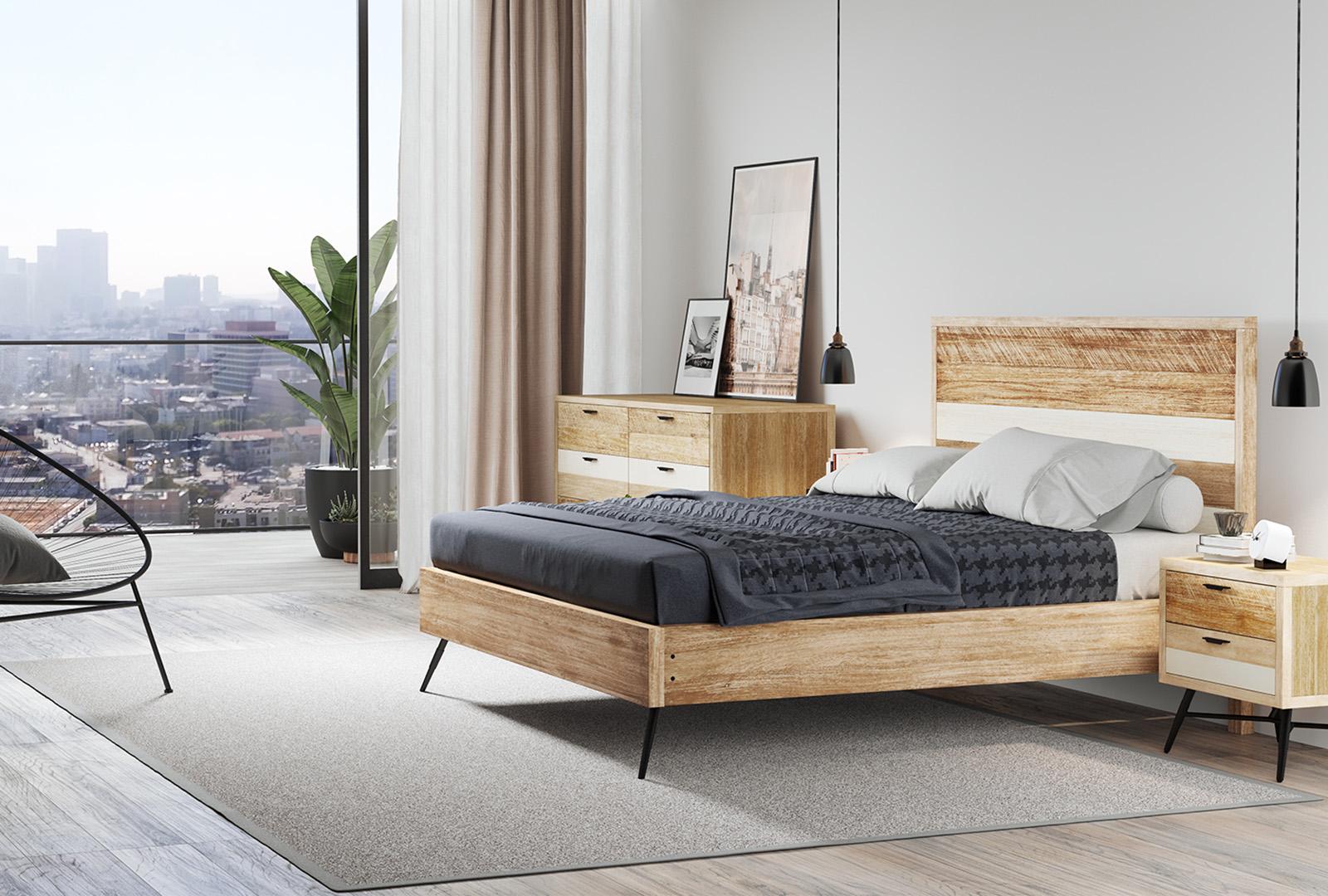 Midtown Loft Bedroom | Rooms to Go | Exchange @ Gwinnett