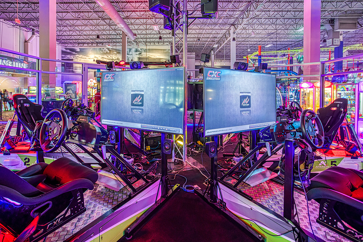 CXC Simulations VR Racing | Andretti Indoor Karting & Games | Exchange @ Gwinnett