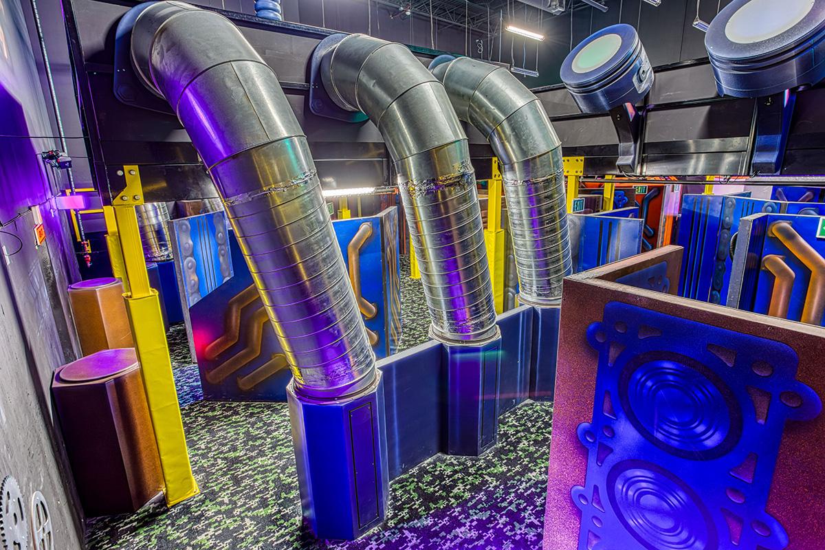 Laser Tag | Andretti Indoor Karting & Games | Exchange & Gwinnett