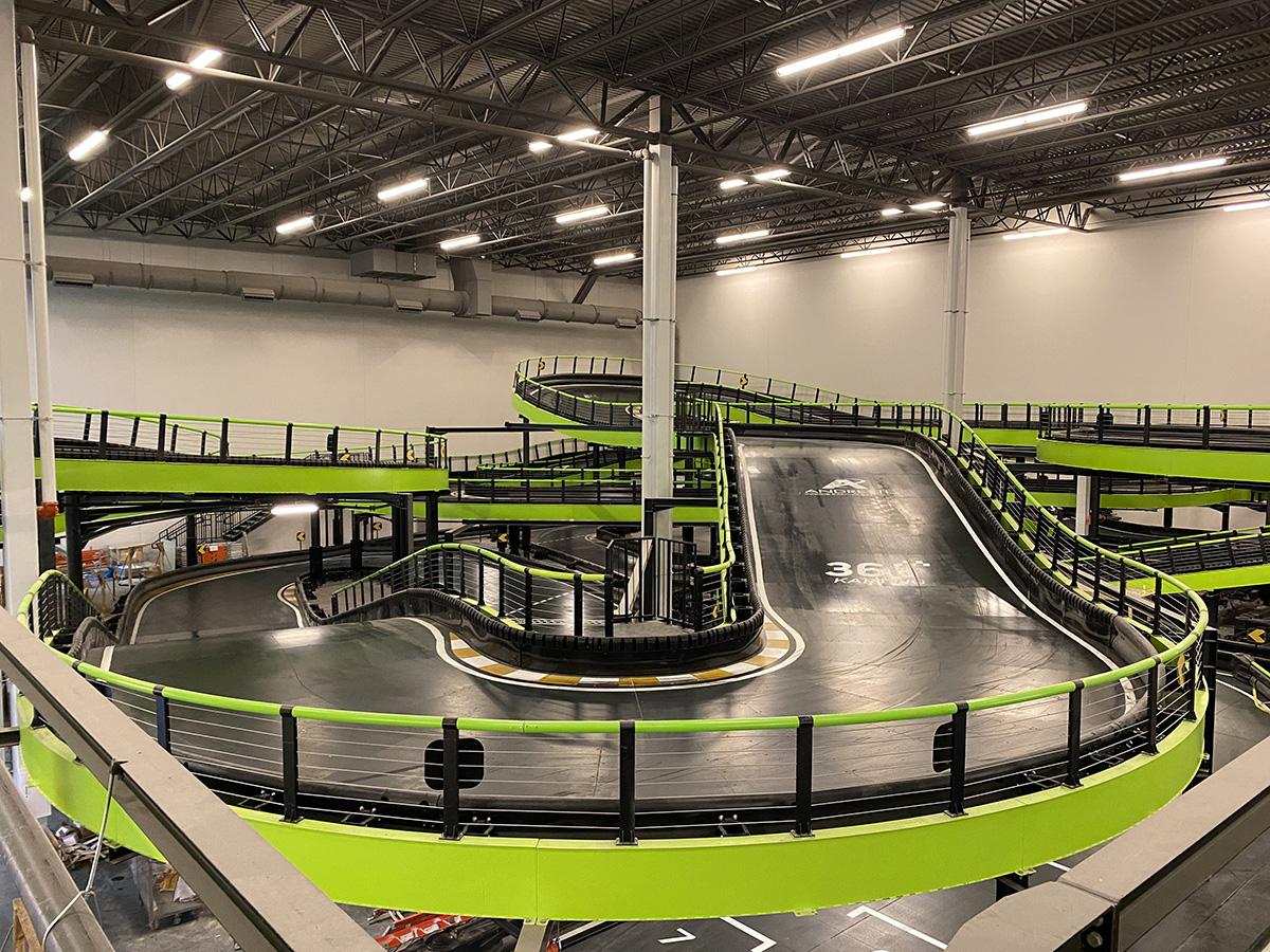 Multi-Level Track | Andretti Indoor Karting & Games | Exchange @ Gwinnett